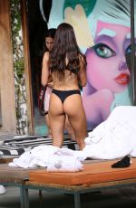 JEN SELTER in Bikini at a Pool in Miami Beach 01/25/2018