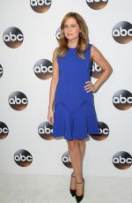 JENNA FISCHER at Disney/ABC Television TCA Winter Press Tour in Los Angeles 01/08/2018