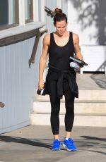 JENNIFER GARNER Heading to a Gym in Brentwood 01/13/2018