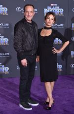JENNIFER GREY at Black Panther Premiere in Hollywood 01/29/2018