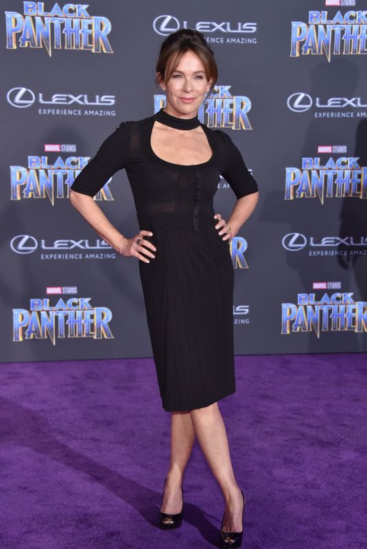 JENNIFER GREY at Black Panther Premiere in Hollywood 01/29/2018