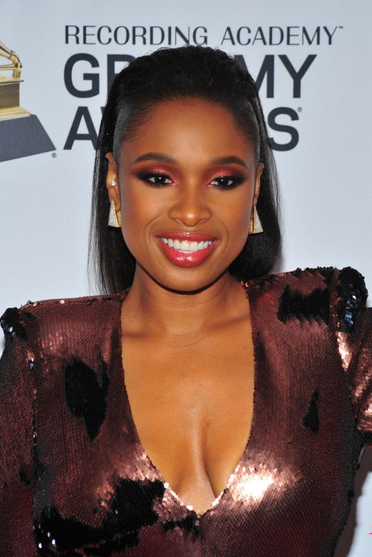JENNIFER HUDSON at Clive Davis and Recording Academy Pre-Grammy Gala in New York 01/27/2018