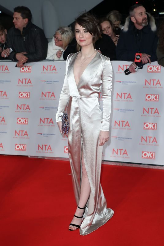 JENNIFER KIRBY at National Television Awards in London 01/23/2018