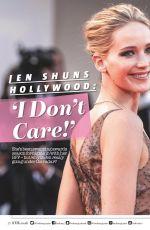 JENNIFER LAWRENCE in Look Magazine, UK January 2018