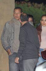 JENNIFER LOPEZ and Alex Rodriguez at Nobu in Maliby 01/01/2018