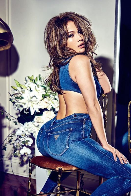 JENNIFER LOPEZ for Guess Jeans, 01/15/2018 Instagram Picture