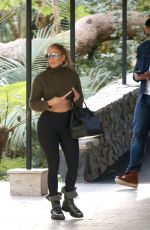 JENNIFER LOPEZ Out and About in Beverly Hils 01/22/2018