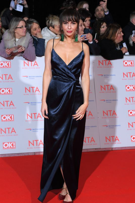 JENNIFER METCALFE at National Television Awards in London 01/23/2018