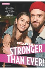 JESSICA BIEL and Justin Timberlake in US Weekly Magazine, February 5th 2018 Issue
