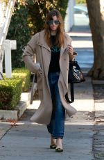 JESSICA BIEL Arrives at Au Fudge in West Hollywood 01/10/2018