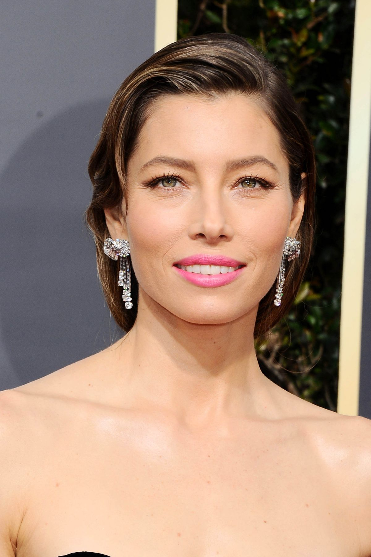 JESSICA BIEL at 75th Annual Golden Globe Awards in Beverly