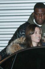 JESSICA BIEL at JFK Airport in New York 01/15/2018