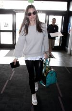 JESSICA BIEL at Los Angeles International Airport 01/15/2018