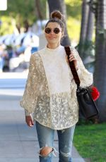 JESSICA BIEL Out Shopping in Los Angeles 01/27/2018