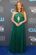 JESSICA CHASTAIN at 2018 Critics
