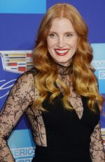 JESSICA CHASTAIN at 29th Annual Palm Springs International Film Festival Awards Gala 01/02/2018