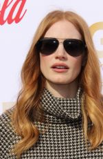 JESSICA CHASTAIN at 5th Annual Gold Meets Golden in Los Angeles 01/06/2018