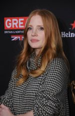 JESSICA CHASTAIN at Bafta Los Angeles Tea Party in Los Angeles 01/06/2018
