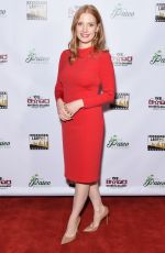 JESSICA CHASTAIN at Inaugural Los Angeles Online Film Critics Society Award in Los Angeles 01/10/2018