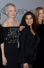 JESSICA CHASTAIN at Instyle and Warner Bros Golden Globes After-party in Los Angeles 01/07/2018