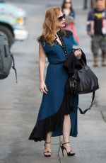 JESSICA CHASTAIN at Jimmy Kimmel Live! in Los Angeles 01/03/2018