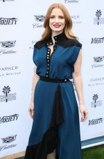 JESSICA CHASTAIN at Variety's Creative Impact Awards in Palm Springs 01/03/2018