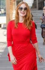 JESSICA CHASTAIN on the Set of a Photocall in Front of Sydney Opera House 01/29/2018