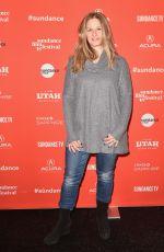 JESSICA LEVIN at Jane Fonda in Five Acts Premiere at 2018 Sundance Film Festival 01/20/2018