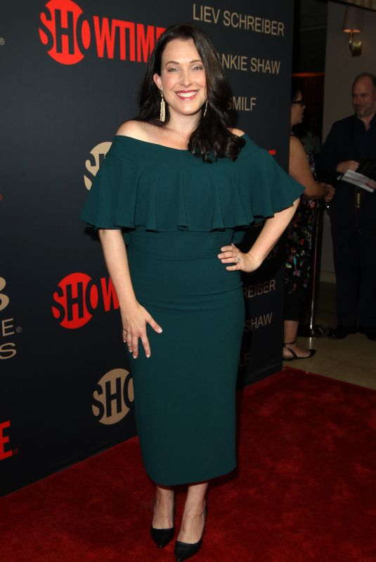 JESSICA RHOADES at Showtime Golden Globe Nominee Celebration in Los Angeles 01/06/2018