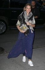 JESSICA SEINFELD Night Out in New York 01/24/2018