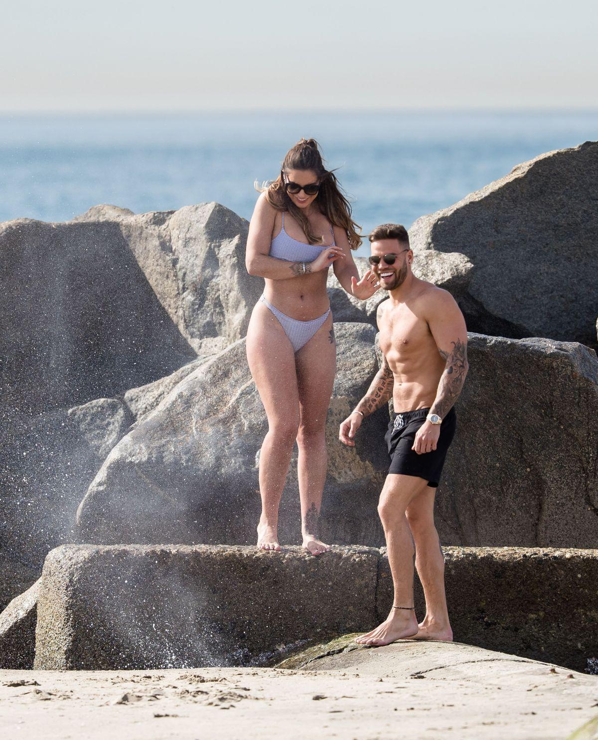 Jessica Shears in Bikini at the beach in Santa Monica Pic 8 of 35