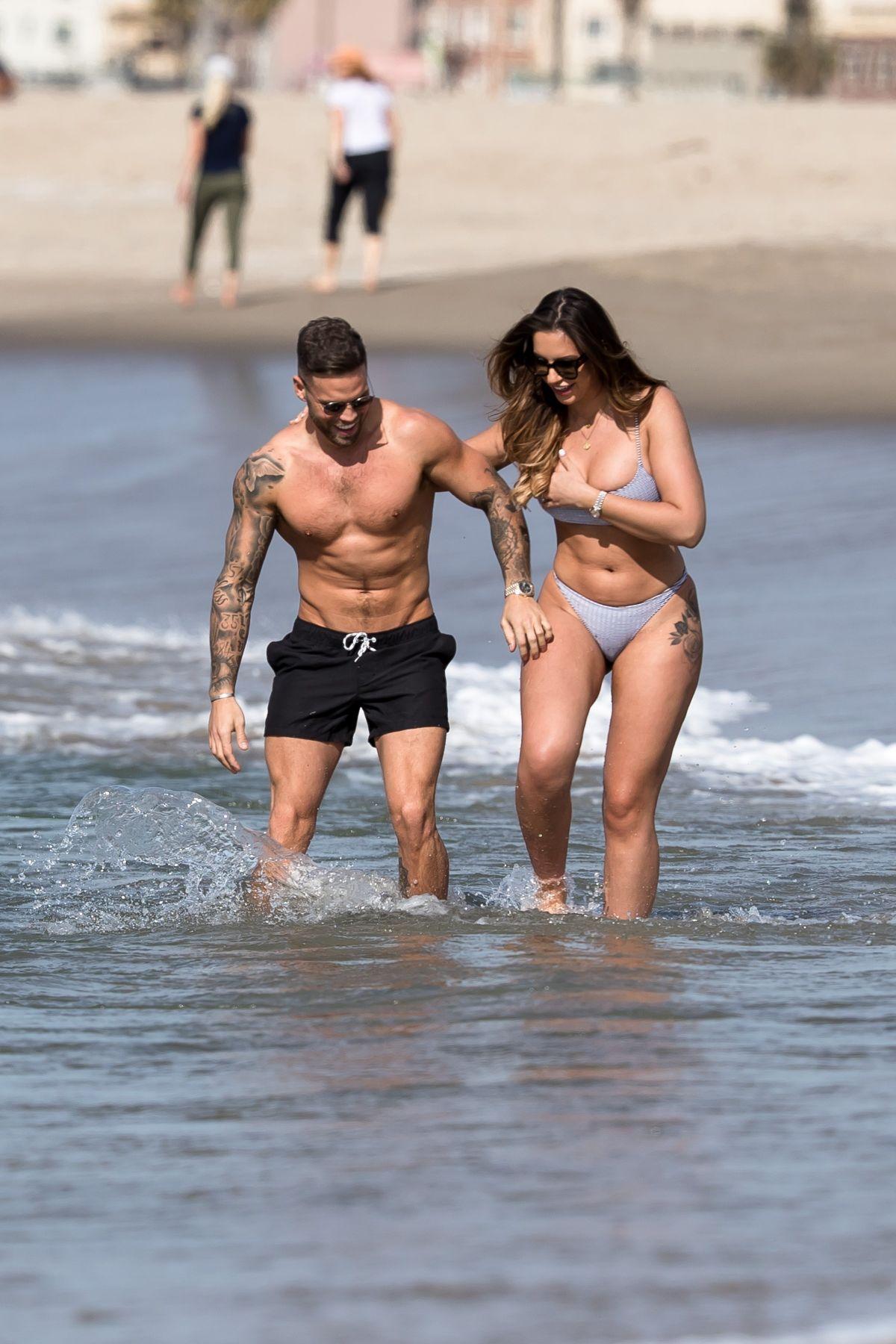 Jessica Shears in Bikini at the beach in Santa Monica Pic 10 of 35