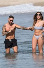JESSICA SHEARS in Bikini at a Beach in Santa Monica 01/25/2018