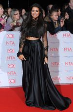 JESSICA WRIGHT at National Television Awards in London 01/23/2018