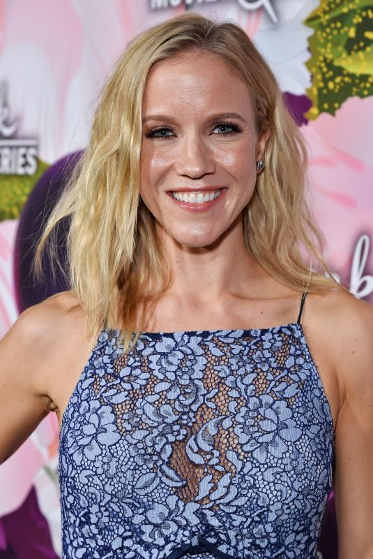 JESSY SCHRAM at Hallmark Channel All-star Party in Los Angeles 01/13/2018