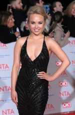 JORGIE PORTER at National Television Awards in London 01/23/2018