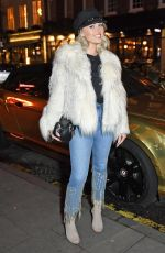 JORGIE PORTER Out and About in London 01/10/2018