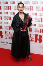 JORJA SMITH at Brit Awards Nominations Launch Party in London 01/13/2018