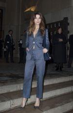 JUANA ACOSTA at Giorgio Armani Prive Show at 2018 Haute Couture Fashion Week in Paris 01/23/2018