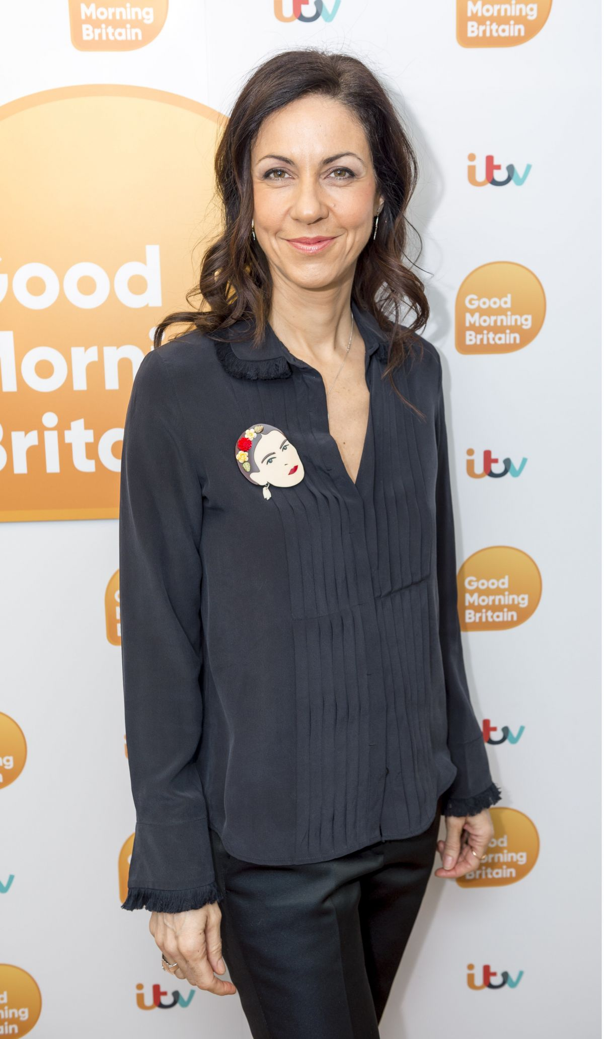 JULIA BRADBURY at Good Morning Britain in London 01/30 ...