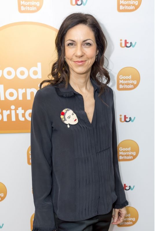 JULIA BRADBURY at Good Morning Britain in London 01/30/2018