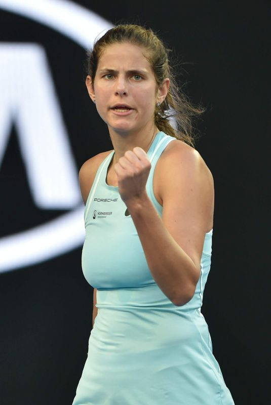 JULIA GOERGES at 2018 Australian Open Tennis Tournament in Melbourne 01/17/2018