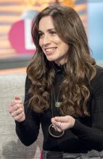 JULIA GOULDING at Lorraine Show in London 01/31/2018