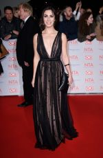 JULIA GOULDING at National Television Awards in London 01/23/2018