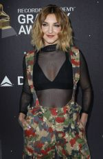 JULIA MICHAELS at Delta Airlines Pre-grammy Party in New York 01/25/2018
