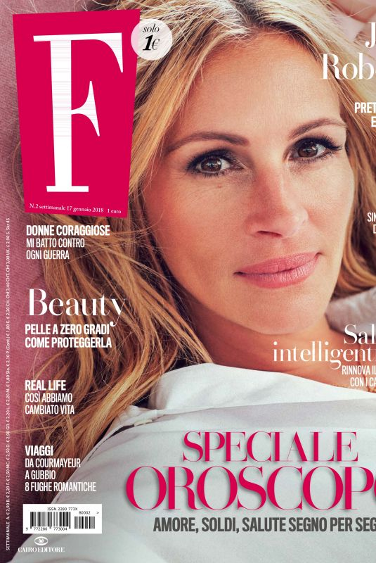 JULIA ROBERTS in F Magaqzine, January 2018