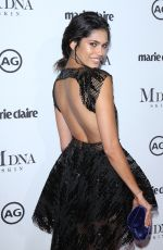 JULIANA HERZ at Marie Claire Image Makers Awards in Los Angeles 01/11/2018