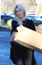 JULIANNA HOUGH Out and About in Los Angeles 01/05/2018