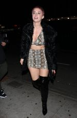 JULIENNA GODDARD Arrives at Delilah in West Hollywood 01/18/2018