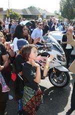 JURNE SMOLLETT-BELL at Kingdom Day Parade in Los Angeles 01/15/2018